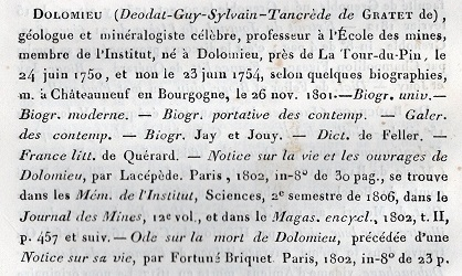 Catalogue des Dauphinois dignes de mémoire, Paul Colomb de Batines