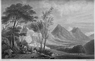 Illustrations of the Passes of the Alps, Brockedon : Briançon