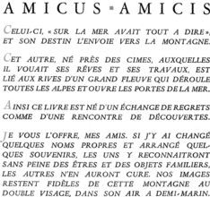 Montagnards, Allix et Chièze : texte introductif